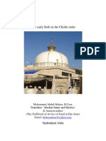 The early Sufis in the Chishti order