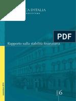 Rapporto Stabilita Finanziaria 6 2013