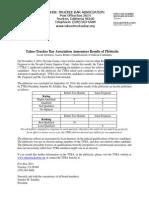 Plebiscite Results 2014 Letter
