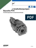 Verstellbare Axialkolbenpumpen Baureihe PVH