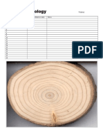 Dendrochronology Available Sheet