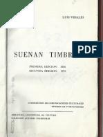 Suenan Timbres. Luis Vidales.
