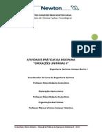 Manual de Práticas de Operações Unitárias II.2014.1