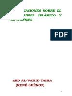 A.W.Y.-esoter. Islámico y Taoísmo