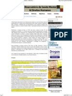 OSM – Observatório de Saúde Mental e Direitos Humanos » Histórico