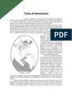 Borges - Cuento - Funes El Memorioso