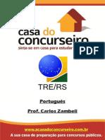 Apostila TRE.2014 Portugues Zambeli