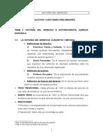 Resumen Historia Del Derecho