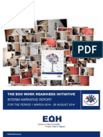 EOH Work Readiness Initiative - Interim Narrative Report 2014