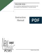 Manual Instalare Centrala DSC PC585H