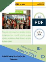 Boletín Estadístico # 6 (Agosto 2014)