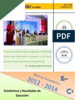 Boletín Estadístico # 7 (2012 al 2014)