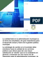 La Calidad de Los Servicios Publicos en La Administracion Municipal