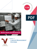 1.1 Labour Management Systems Sedex Supplier Workbook