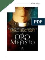 El Oro de Mefisto - Eric Frattini