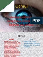 Ochiul (varianta ppt)