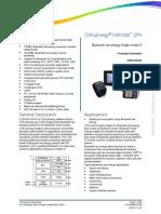 Csr1000 Qfn Data Sheet Cs-216340-Ds