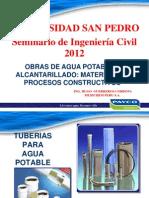 Tuberias Sistemas Agua Potable USP