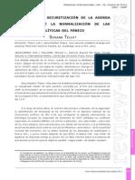 Revisando La Securitización de La Agenda Susana Tello