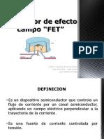 Transistor de Efecto Campo