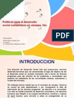 Políticas para el desarrollo Social Municipal