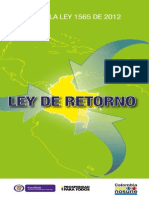 ABC Ley 1565 de 2012 (Ley de Retorno)