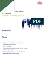 Mejores Prácticas en Gobierno Corporativo