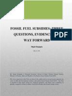 Fossil Fue Subsidies