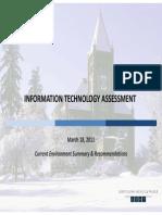 UNH IT Assessment Risks