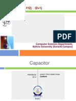 Capacitance and Polarization