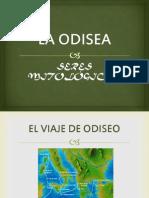 La Odisea, Seres Mitológicos