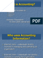 Chapter 1 - Accounting in Business - Power Point Slides (a)