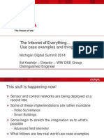 GT-Michigan DGS 2014 Presentation the Internet of Things - E Koehler