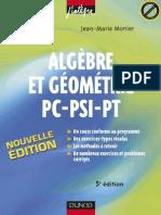 Algebre Et Geometrie PSI