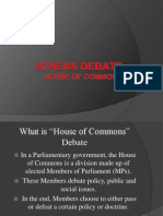 house of commons presentation 1