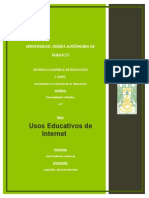 7. Usos Educativos de La Internet