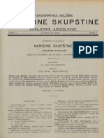 IX Redovni Sastanak 24 Novembra 1933 Godine