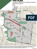 Park Ridge Marijuana Map