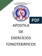 Apostila de Exercícios Fonoterápicos