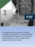 Apresentação nitrogênio