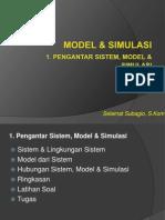 Model Simulasi Kebakaran