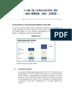 Evolución de los créditos colocados del BBVA.doc