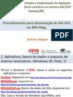 Apresentação SIA SUS Porto Alegre