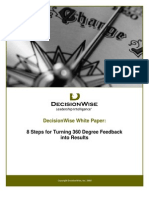 Decision Wise Whitepaper 8 Steps for Turning 360 Degree Feedback Into Results