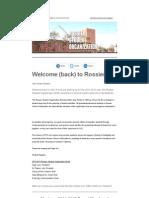 RSO Welcome!
