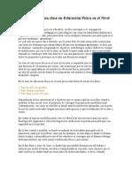 Estructura de una clase en Educación Física en el Nivel Preescolar.doc