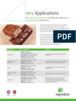 Polyols confectionery application fact sheet