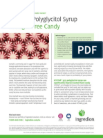 3.HYSTAR® polyglycitol syrup in sugar free candy white paper