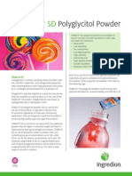 STABILITE® SD polyglycitol powder fact sheet