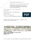 Dew Drops, Vol. 37, No. 10, March 8, 1914 by Various